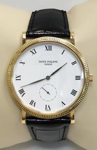Patek Philippe Calatrava Watch 18k YG