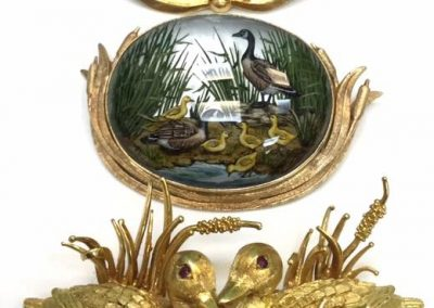Vintage Gold Wildlife Brooches sold
